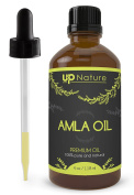 UpNature The Best Amla Oil 120ml - 100% Pure Unrefined GMO Free Premium Quality - With Dropper - For Hair Growth And beard