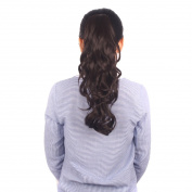 FRISTLIKE 18 to 50cm Long Thick Claw Jaw Pony tail Clip in Pony Tail Hair Extension Extensions