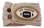 It's Gameday Football Wide Stretch Fabric Headwrap Headband Sports