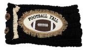 Football Y'all Wide Stretch Fabric Headwrap Headband Sports