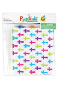 Playside Creations VBS and Camp Crafts, Zipper Bags-Crosses, 5 x 6. 13cm , Multi-Coloured, 40 Count