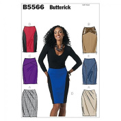 Butterick Ladies Easy Sewing Pattern 5566 Pencil Skirts