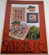 Spools #126 Quilt Pattern by Country Threads