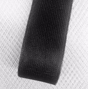 Stiff Polyester Black Horsehair Braid, Selling Per Roll / 50 yards