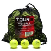 Colour Various Brands Recycled Golf Balls in Mesh Bag