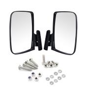 Universal Golf Cart Side View Mirrors for EzGo Club Car Yamaha,Moveland RHOX UTV Style Accessories