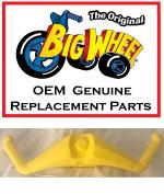 Yellow HANDLEBARS for The Original Big Wheel HOT CYCLE, Original Replacement Parts