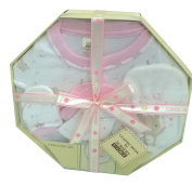 Baby Shower Gift - 5 Piece Baby Clothes Set Boxed 0/3 Months