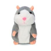 Amlaiworld Plush Toys,Adorable Interesting Speak Talking Record Hamster Mouse Plush Kids Toys