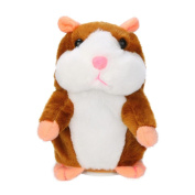 Amlaiworld Plush Toys,Adorable Interesting Speak Talking Record Hamster Mouse Plush Kids Toys