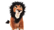 official disney Scar Medium Soft Toy, The Lion King