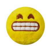 Keel Toys Grinning Face Emoji Ball Plush Toy