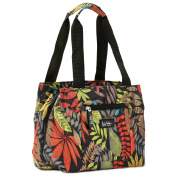 Nicole Miller of New York Insulated Lunch Cooler- Galapagos/ Black 11 Lunch Tote