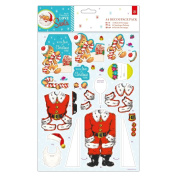 Love Santa Papermania Christmas Craft Collection - Gingerbread Man A4 Decoupage