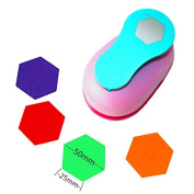 CADY Crafts Punch 5.1cm Paper Punches Craft Punches hexagon