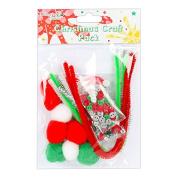 DoveCraft Set Junior Christmas Craft Set Creative Festive Red White & Green Pack