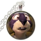 1 Nut Job Bezel Pendant Necklace #1