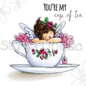 Stamping Bella Cling Stamp 17cm x 11cm -Edna's Cup Of Tea