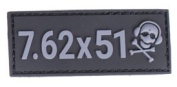 G-CODE 7.62X51 calibre PATCH
