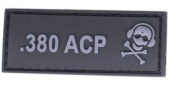 G-CODE .380 ACP calibre PATCH