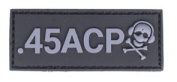 G-CODE .45 ACP calibre PATCH