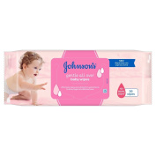 Johnson's Gentle All Over Baby Wipes, 56 Wipes