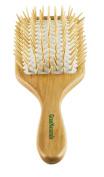 GranNaturals Detangling Wooden Bristle Paddle Hair Brush | Length 26cm Width 8.9cm