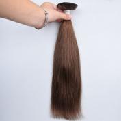 ChisonHair Brazilian Virgin Hair Straight 1 Bundles/lot Weight(100g+/-5g)/Bundle Grade 8A Unprocessed Virgin Human Hair Weave Weft #4 Colour Tangle-free