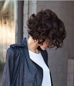 Wigbuy short hair wigs Kinky Curly synthetic Fluffy Wavy Black heat resistant fibre Loose wavy wigs for women
