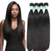 Glamorous Remi Malaysian Virgin Hair Silk Straight Weave 3 Bundles Natural Colour 100g per Pcs 3pcs for Full Head