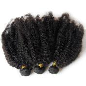 Mongolian Virgin Hair Afro Kinky Curly Hair Weave Bundles Great Hair 50g/bundles 4pcs Cheap Human Hair Extensions Kinky Curly Hair Extensions