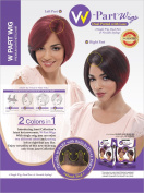 Janet Collection Synthetic Lace Front Wig W-Part Lace Hestina Wig