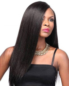 Miss diva Best Brazilian Remy Hair Lace Wig with Baby Hair Silky Straight Full Lace Wig Glueless African American Women's Replacement Hair Wigs