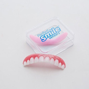 Instant Smile Teeth Cosmetic Teeth Comfort Fit Flex Top Cosmetic Veneer, Natural Small Comfortable New Cosmetic Veneer Teeth For a Perfect Smile, One Size Fits All