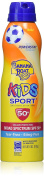 Banana Boat Kids Sport Tear-Free, Sting-Free Broad Spectrum Sunscreen Lotion Spray, SPF 50+ - 180ml