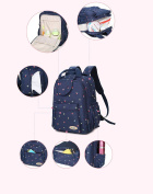 Nappy Bag Backpack Multi-function Nappy Changing Bag - Large,Fashion,Durable Wide Open Baby Nappy Backpack Travel Bag