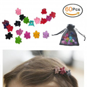 Mix Colour Flower Hair Claws Baby Girls Hairpin Kids Hair Accessories