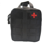 Tactical MOLLE Pouch Compact Military EMT Medical IFAK Rip-Away EDC Utility Pouch - First Aid Kit for Outdoors