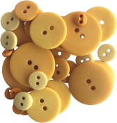 Button Up! Smoothie Pack Buttons-Mustard
