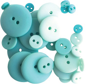 Button Up! Smoothie Pack Buttons-Ocean