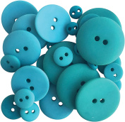 Button Up! Smoothie Pack Buttons-Teal For Two
