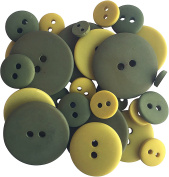 Button Up! Smoothie Pack Buttons-Olive