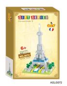 Eiffel Tower Building Block Toy Nano Blocks
