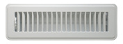 Accord ABFRWH210 Floor Register with Louvred Design, 5.1cm x 25cm (Duct Opening Measurements), White