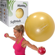 MSD Softmed 1 kg Soft Medicine Ball 12 cm Inflatable Ball Weights Pilates Fitness