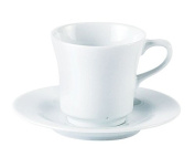 Porcelite 320720 Tall Tea Cup, 20 cL210ml
