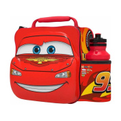 Disney Pixar Cars 3D Thermal Lunch Bag with Bottle