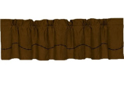 HiEnd Accents Barbwire Western Valance