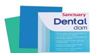 Sanctuary Latex Dental Dam,Powder Free,