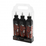 World Famous Tattoo Ink 3 Bottle Greywash Shading Set 240ml